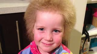 Youngster Has Embraced Fuzzy Hair That Makes Her Look Like Albert Einstein