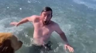 TikTok User 'Almost Dies' While Swimming Under Ice On Lake