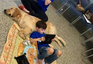 Little Lad With Autism Meets His Service Dog For The First Time