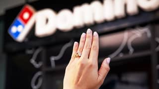 Domino's Australia Creates Diamond-Encrusted Engagement Ring For Valentine's Day