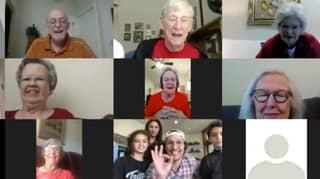 Matthew McConaughey Hosts Zoom Bingo Round For Seniors At Retirement Village