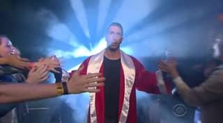 Watch James Corden Unleash 'Red Ross' During Rap Battle With David Schwimmer