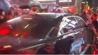 Car Drives Into Supporters At Black Lives Matter March In New York