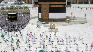 Dramatic Photos Show Scaled-Down Hajj Pilgrimage Due To Coronavirus