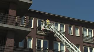 Firefighters Lift Family To Fourth Floor Window So Dying Man Can Say Last Goodbyes