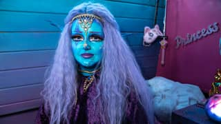 Bradford Woman Wants To Be Permanently Blue-Skinned Because Of Her Love Of Aliens