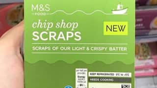 Marks & Spencer Is Now Selling Fish And Chip Shop Scraps