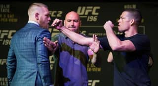 Here's What Was Said Between Conor McGregor And Nate Diaz During Their Press Conference Scuffle