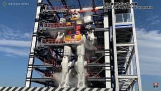Gigantic Moving Gundam Robot Unveiled In Japan
