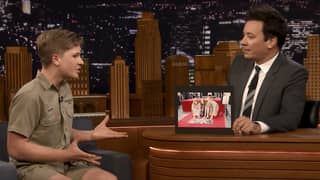 ​Steve Irwin's Son Does His Dad Proud On 'The Tonight Show'
