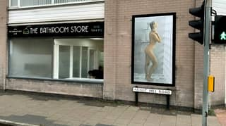 Shop Owner Told To Remove Poster Of Naked Woman Puts Up One Of Naked Man Instead