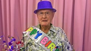 Oldest Living Australian Says He Eats 'Half A Dozen Prawns A Day' As He Celebrates His 111th Birthday