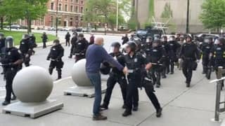Elderly Buffalo Protestor That Was Shoved To The Ground By Police Suffered Brain Injury