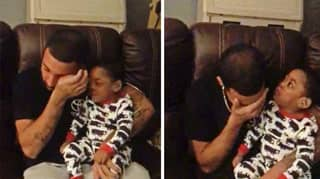 Dad Moved To Tears Of Joy After His Son Hears Him Singing To Him