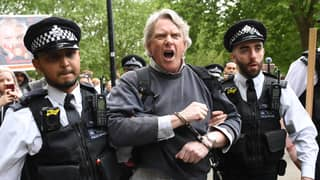 Arrests Made After Group Gathers In Hyde Park For Anti-Lockdown Protest