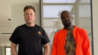 Kanye West Shares Photo Of Himself And Elon Musk Hanging Out