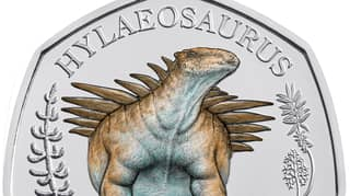 Royal Mint Releases Final 50p Coin In Its Dinosauria Collection