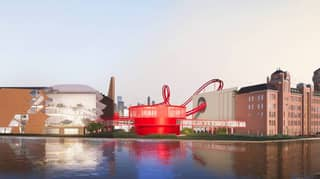 Chocolate Company Tony's Chocolonely Shares Glimpse Of New Factory With Roller Coaster