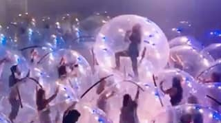 The Flaming Lips Held A Socially Distanced 'Bubble' Gig