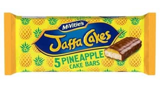 McVitie's Has Released New Pineapple Flavoured Jaffa Cakes And Cake Bars