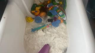 Mum Bought 18 Toilet Rolls Then Discovered Her Kids Had Thrown Them In The Bath