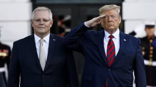 Donald Trump Awards Scott Morrison With One Of The Highest Military Honours