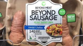 Unfortunate Resemblance Means Shoppers Find Vegan Sausages Hilarious