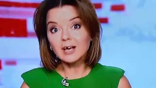 News Presenter Keeps Her Cool As Her Tooth Falls Out Live On-Air