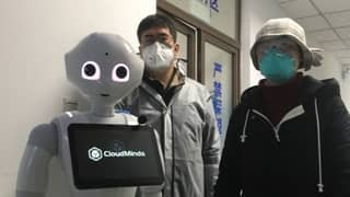 Chinese Hospitals Introduce Robots To Help Treat Coronavirus Patients