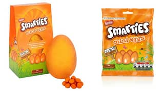 Tesco Selling Chocolate Eggs for 75p & The New Orange Smarties Easter Egg Is Here