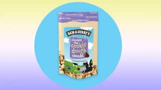 You Can Now Buy Ben & Jerry's Snackable Cookie Dough Chunks In UK