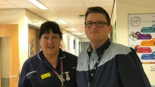 Morbidly Obese Man Working For First Time In 15 Years At Hospital That Saved His Life
