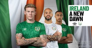 Umbro Just Released Images Of The New Ireland Top And We Love it