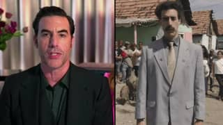 Sacha Baron Cohen Wins Best Comedy Actor At Golden Globes For Borat