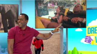 Andi Peters Accidentally Ruins Producer's Engagement Surprise On Good Morning Britain