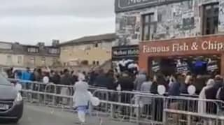 Chip Shop Defends Itself After Huge Queues Form For 45p Fish And Chips