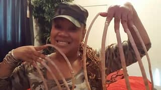 Grandma With World's Longest Nails Is Selling Them For £35,000