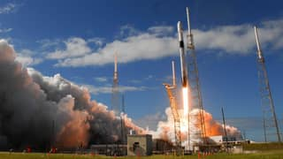 SpaceX Releases Video Of Satellites Being Deployed