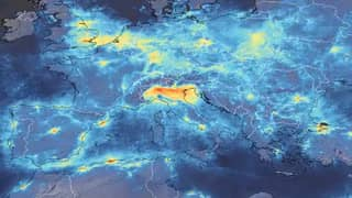 Satellite Images Show Decline In Pollution Over Italy During Quarantine