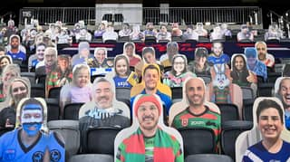 The NRL's Fan Cardboard Cutout Offer Feature Divides Opinion