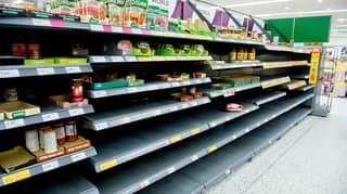 UK Retailers Urge Customers To Stop Panic Buying Amid Coronavirus Fears