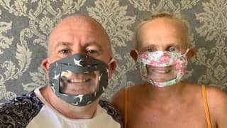 Mum Creates Face Mask With See-Through Piece For Her Deaf Daughter