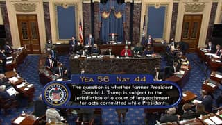 US Senate Declares Donald Trump's Second Impeachment Is Constitutional