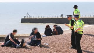 Couple Moan After Police Break Up Their Barbecue On Sussex Beach