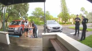 Video Shows Moment Woman Gives Birth To Baby In Hospital Car Park
