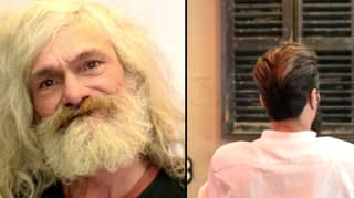 Homeless Man Cries After Barber Gives Him A Complete Makeover