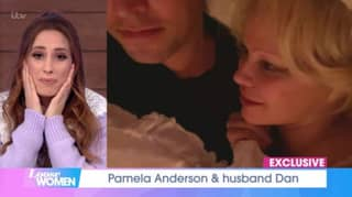 ​Viewers Stunned As Pamela Anderson Gives Interview From Bed With New Husband