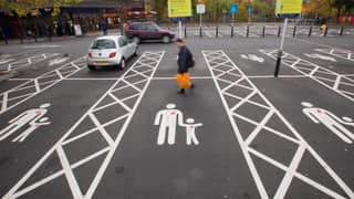 You Could Soon Be Fined For Using Parent And Child Parking Bays