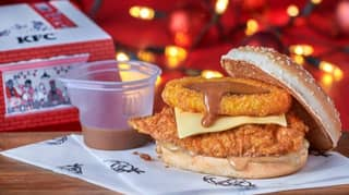 KFC Launches New Gravy Burger Box Meal For Christmas