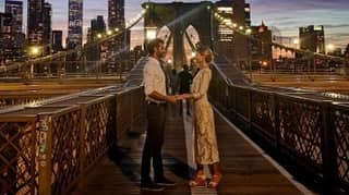 Stranger Who Took Only Photo Of Couple Getting Married Tracks Them Down